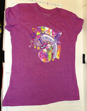 Little Brownie Bakers Girl Scout Cookie Shirt Music print 2013-2014 YL AS Purple