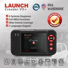 LAUNCH Creader VII+ OBD2 Car Diagnostic Scanner As CRP123 ABS SRS Engine Airbag