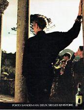 Publicité Advertising 087  1985   le Porto Sandeman