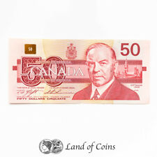 More details for canada: 1 x 50 canadian dollar banknote. dated 1988.