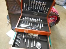 Outstanding GORHAM Silverplate  in Anti-Tarnish Wood Box-82 pieces..Pattern ?