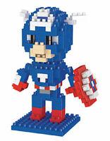 LEGO MATTONCINI CAPITAN AMERICA 3D SUPEREROI SCATOLA NUOVI 210 PEZZI COSTRUZIONI