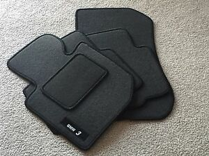 BMW E36 CARPET FLOOR MATS SET GRAY