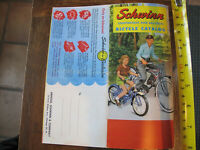 SCHWINN PHANTOM AND OTHER LIGHTWEIGHT AND BALLOON BICYCLE REPRINT  CATALOG