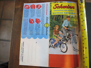 SCHWINN PHANTOM AND OTHER LIGHTWEIGHT AND BALLOON BICYCLE REPRINT  CATALOG