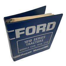 Ford 1010 Series 1310 15101710 Tractor Service Manual Repair Shop Book Binder
