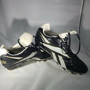 Reebok Integrity 09 HG Soccer Cleats US Mens 10.5 Black and White
