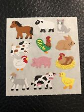 Sandylion Vintage stickers - Farm Animals