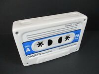 Spardose Musik Cassette Kassette Retro,Money Bank,17 cm,aus Keramik,NEU .