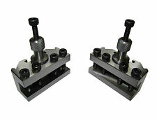 RDGTOOLS 2 X MYFORD T37 QUICKCHANGE TOOLPOST HOLDERS FITS MYFORD LATHE