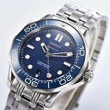 Mens 007 Homage Watch Automatic Sea Ocean Parnis UK SELLER Sterile Bliger Blue