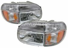 HOLIDAY RAMBLER ENDEAVOR  1998 1999 HEADLIGHTS SIGNAL HEAD LIGHTS FRONT LAMPS RV