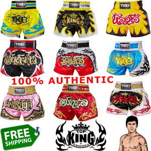 TOP KING BOXING Shorts Trunks TKTBS Muay Thai GENUINE Made-To-Order Handmade