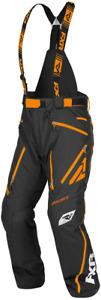 FXR Mission X Pant Mens Snowmobile Black/ Orange Sz M