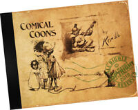 E W Kemble COMICAL COONS a Book about Children (in 1898) Black Americana STUDY