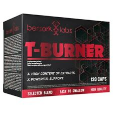 T-Burner 120 caps - Thermogenic Formula Fat Burner Supplement Fat Loss Support