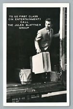 """Musician Riding the Rails """"Jules Blattner Group"""" Early Rock & Roll—Affton MO 50s"""