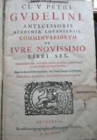 Commentariorum de Ivre Novissimo Libri Sex & Syntagma regularum Iuris Utriusque