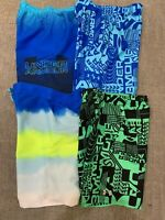Under Armour Boys Volley Swimming Trunks Swimsuit UA Blue Green Black New $40