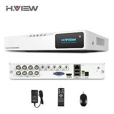 H.View 8CH HDMI H.264 1080N CCTV DVR Kit Videoueberwachung Security System Set