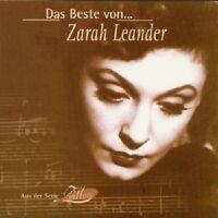 """ZARAH LEANDER """"DAS BESTE VON ZARAH LEANDER"""" CD NEUWARE"""