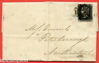 "SG. 2. A1 (2). AS5 g. "" FD "". 1d black. Plate 1b. A good used example on cover."