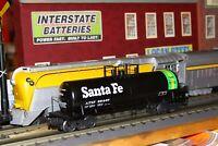 K-line O Semi-scale K-6561 aluminum single dome tank car NIB # 98487 Santa Fe