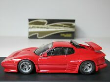 TOP MODEL, FERRARI 365 GT4 KOENIG, RED 1984 CLASSIC ITALIAN ROAD CAR, #GOLD 032