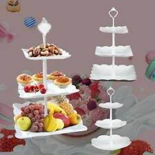 3 Tier Cake Stand Afternoon Tea Wedding Party Plates Tableware Vintage Embossed