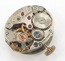 VINTAGE LADIES TUDOR 17J CAL. 343 WATCH MOVEMENT & DIAL. NEEDS SERVICE / REPAIR