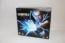 inFamous 2 Hero Edition Playstation 3 PS3 Game and Goodies MINT in open box