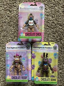 Funko Five Nights At Freddys Action Figures Complete Set Funko Fair 2021 FNAF