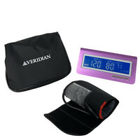 Veridian Healthcare Electronic Metallic Style Adult Arm Blood Pressure Monitor