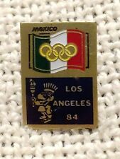 Vintage Lapel Pin 1984 OLYMPIC GAMES Mexico Logo Los Angeles
