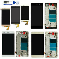 LCD Display Touch Screen Digitizer Assembly w/n Frame For Huawei P8 Lite ALE-L21