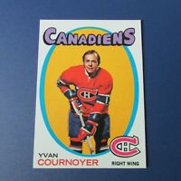 YVAN COURNOYER   1971-72  TOPPS  # 15  Montreal Canadiens  1971 1972  NM/MINT