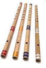 """Professional CONCERTO FLAUTO SCALA AA 30"""" Flauto Indiano BAMBOO trasversale di alta qualità UK"""