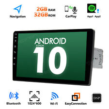 """9"""" Double 2DIN Car Android 10.0 Stereo Radio No-DVD Player 4G WIFI GPS Head Unit"""