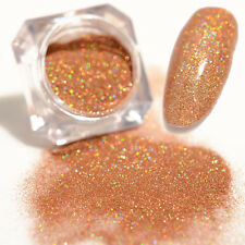 Holographic Gold Laser Powder Dust Ultra-thin Shining Holo Glitter  DIY