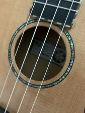 RRP £169 Concert Acoustic Model Ukulele, Maple w/ Solid Cedar Top Abalone Inlays