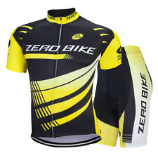 Maglia Ciclismo Uomo Corta Manica Bicicletta Cycling Jersey Pantaloncini Shorts