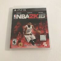 NBA 2K16 (Sony PlayStation 3, 2015) Video Game Disc Basketball