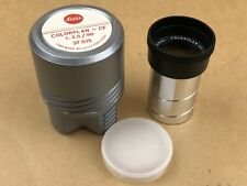 LEICA COLORPLAN - CF 90mm F/2.5 PROJECTOR Lens Leitz Portugal 37015 - MINT