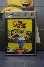 Les Simpsons le jeu [NEUF BLISTER FR] PS2
