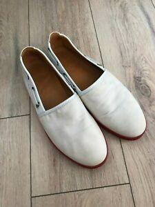 MONCLER Men Slip-on Canvas Leather Shoes
