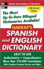 Harrap's Spanish and English Dictionary (Harrap's Dictionaries) Harrap's Paperb