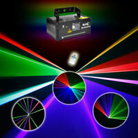 SUNY DMX RGB Laser Beam Scanner Light Show DJ Disco Xmas Event Party DM-RGB400