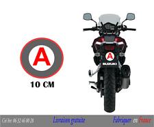 Disque A Moto - Stickers Autocollant Jeune Conducteur Permis  10 cm