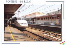 CP 86000 POITIERS TRAIN TGV Gare  PHOTO GOUILLARDON