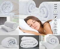 ANTI ALLERGY EXTRA SOFT DUVET 4.5 10.5 13.5 15 TOG SINGLE DOUBLE KING SIZE BED